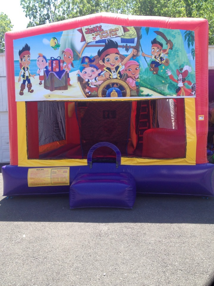 jack & the neverland bounce house