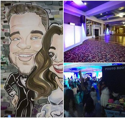 WEDDING DJ, PHOTO BOOTH, CHARICATURE ARTIST