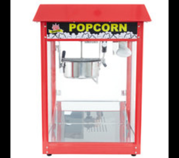 POPCORN MACHINE, RED TOP
