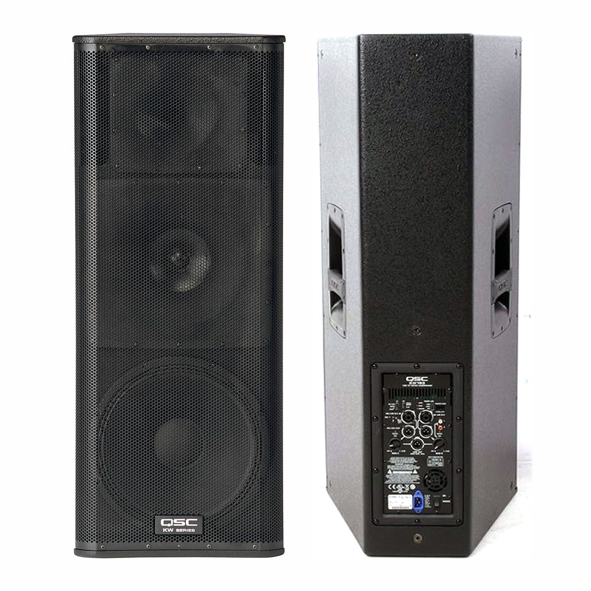 Speaker, Powered, QSC KW153