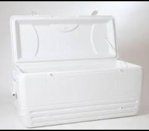 COOLER, IGLOO 150 Quart (White)