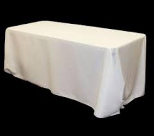 LINEN, 8 Ft. TABLE DRAPE Requires A 4 Day Notice