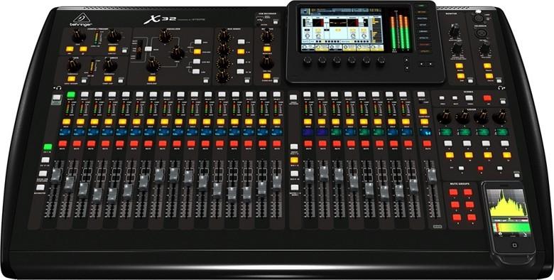 Mixer Console, Digital, Behringer X32