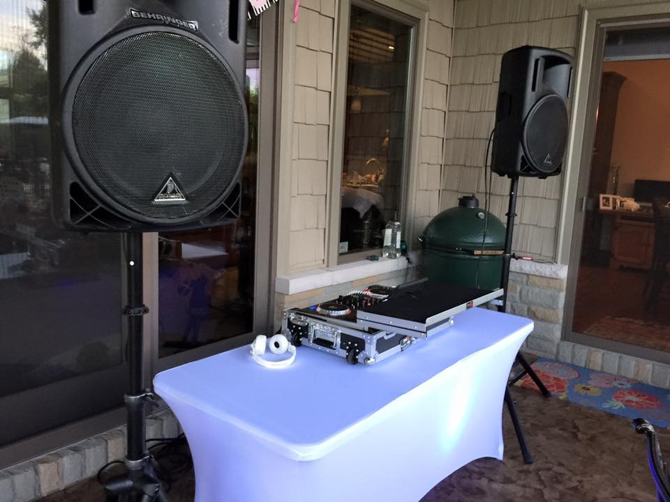 Birthday Party DJ 4 Hours/$400
