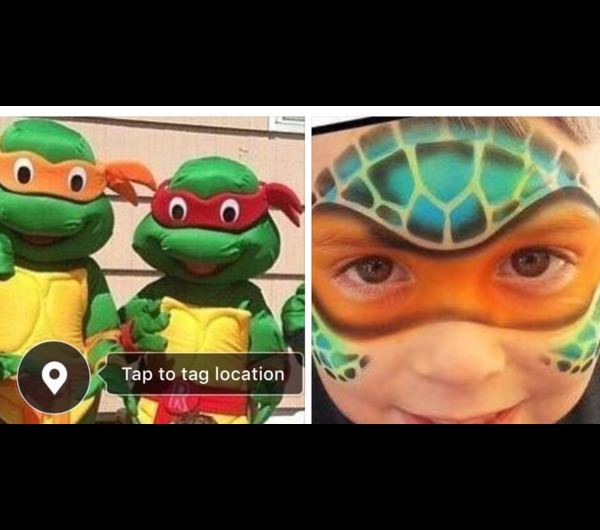 all four ninja turtles