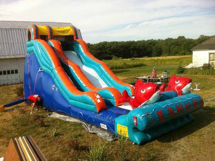 Big Kahuna  Water Slide is here! OR DRY SLIDE