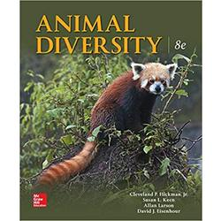 USED || HICKMAN / ANIMAL DIVERSITY 8TH ED
