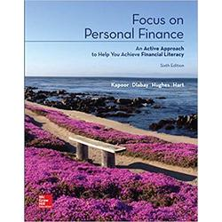 USED || KAPOOR / FOCUS ON PERSONAL FINANCE 6th