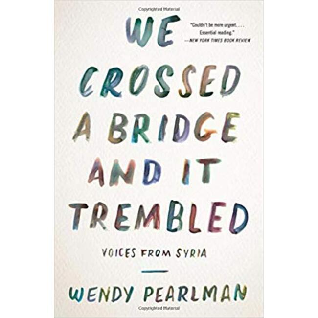 NEW || PEARLMAN / WE CROSS A BRIDGE