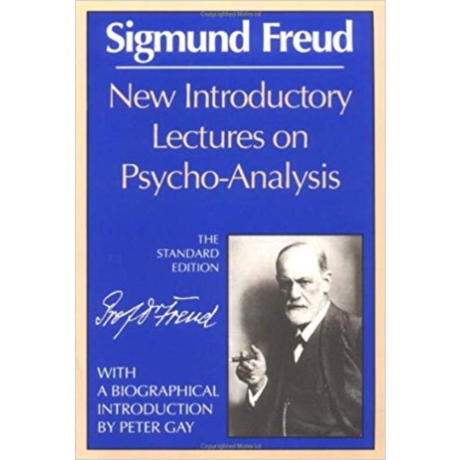 NEW || FREUD / NEW INTRODUCTORY LECTURES ON PSYCHOANALYSIS (INTRO: GAY)
