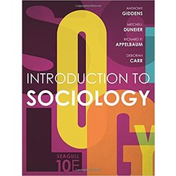 NEW || GIDDENS / INTRO TO SOCIOLOGY SEAGULL ED