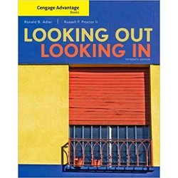 USED || ADLER / LOOKING OUT/LOOKING IN CENGAGE ADV 15th