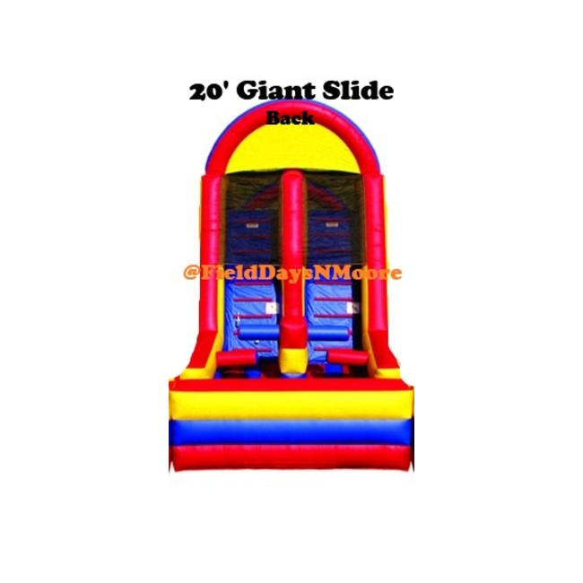 20ft Giant Double Slide