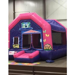 Butterfly bounce house