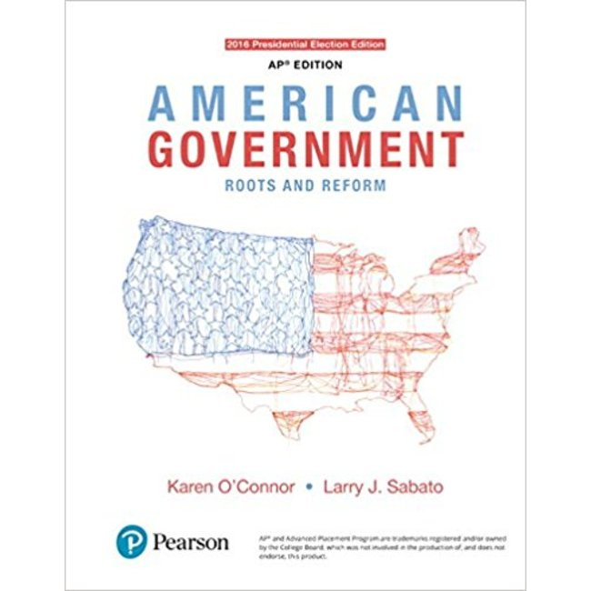 USED || OCONNOR / AMERICAN GOVERNMENT 2016 ELECTIONS & UPDATES (13TH)