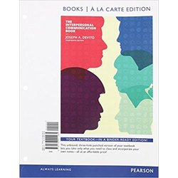 USED || DEVITO / INTERPERSONAL COMMUNICATION BOOK (LOOSE-LEAF)