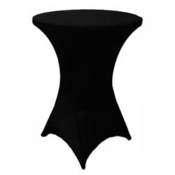 High Boy Table w/ Stretch black cover