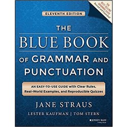 USED || STRAUS / BLUE BOOK OF GRAMMAR & PUNCTUATION