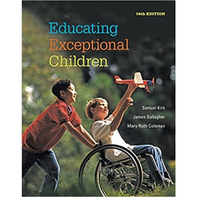Used| KIRK / EDUCATING EXCEPTIONAL CHILDREN| Instructor: LYNCH