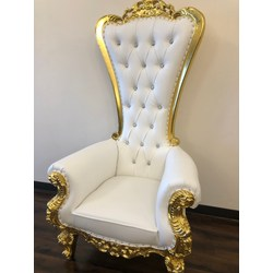 Brilliant White Loveseat Throne Chair Dailytribune Chair Design For Home Dailytribuneorg