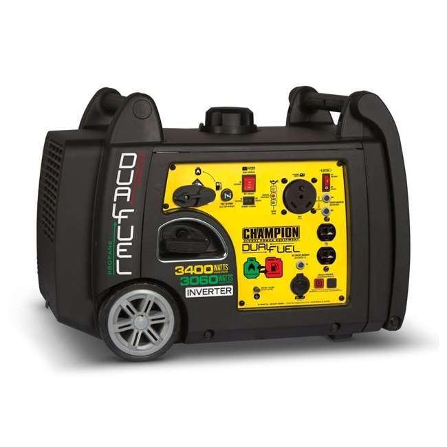 Generator - 120v 3600 watt dual fuel