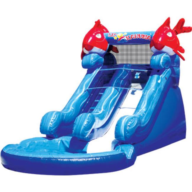 Lil' Kahuna water slide!