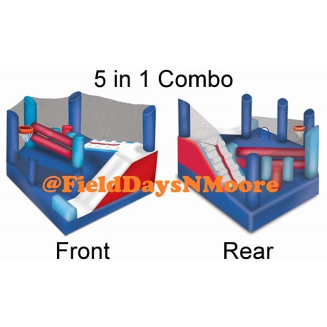 5 in 1 Bounce House