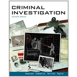 NEW || SWANSON / CRIMINAL INVESTIGATION (HB)