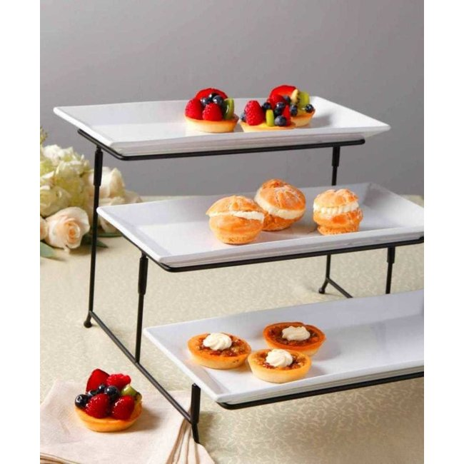 Porcelain 3 Tiered Stand