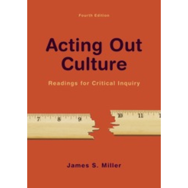 USED || MILLER / ACTING OUT CULTURE