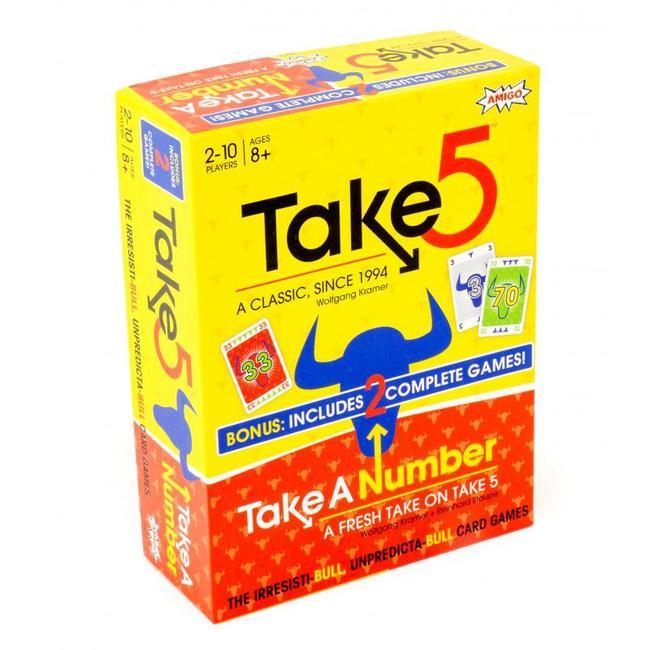 Take 5! & Take A Number