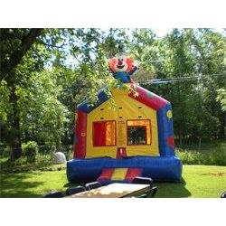 clown bounce house balloon animals clown
