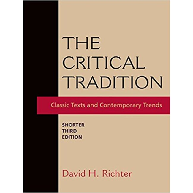 USED || RICHTER / CRITICAL TRADITION SHORTER 3RD ED
