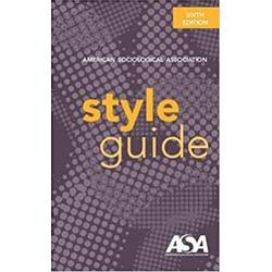 NEW (RHC) || AMER / AMERICAN SOC ASSOC STYLE GUIDE