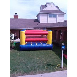 Bouncy Boxing Ring Commercial Inflatable