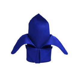 20X20 POLYESTER NAPKIN - ROYAL BLUE