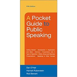 USED || OHAIR / POCKET GUIDE TO PUBLIC SPEAKING