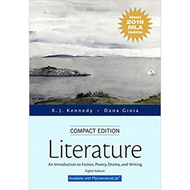 NEW    KENNEDY / LITERATURE COMPACT 8TH MLA UPDATE
