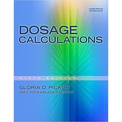 USED || PICKAR / DOSAGE CALCULATIONS