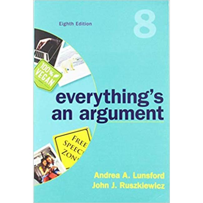 USED    LUNSFORD / EVERYTHING'S AN ARGUMENT 8TH