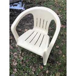 **FOR SALE**Beige Polypropylene Stacking Chairs
