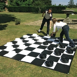 Outdoor Oversized Checkers