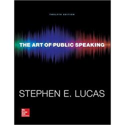 USED || LUCAS / ART OF PUBLIC SPEAKING 12th (PB)