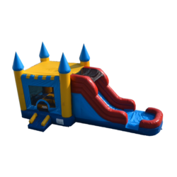 Castle Bounce and Slide Combo - WET