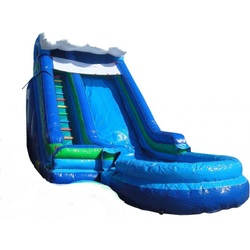 24ft Waterslide with Pool