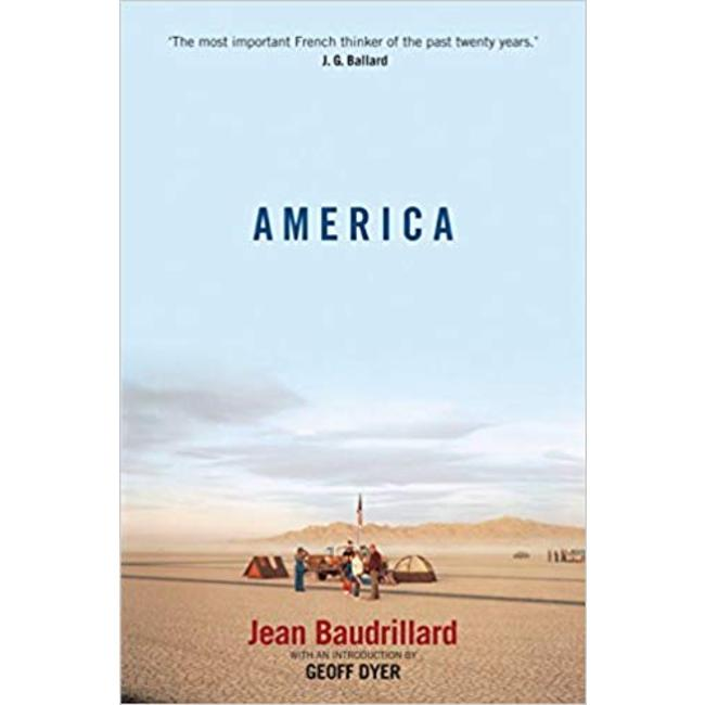 NEW || BAUDRILLARD / AMERICA