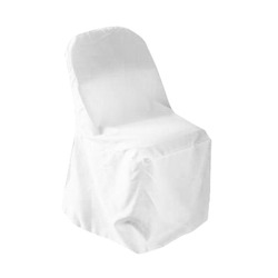 White Fitted Chair Covers- Samsonnite Chair