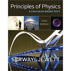 USED || SERWAY / PRINCIPLES OF PHYSICS: CALC BASED TEXT (5th HB)
