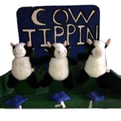 Cow Tippin Bean Bag Toss
