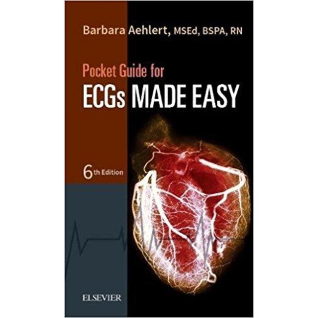 USED || AEHLERT / ECGS MADE EASY POCKET GUIDE (6th PB)
